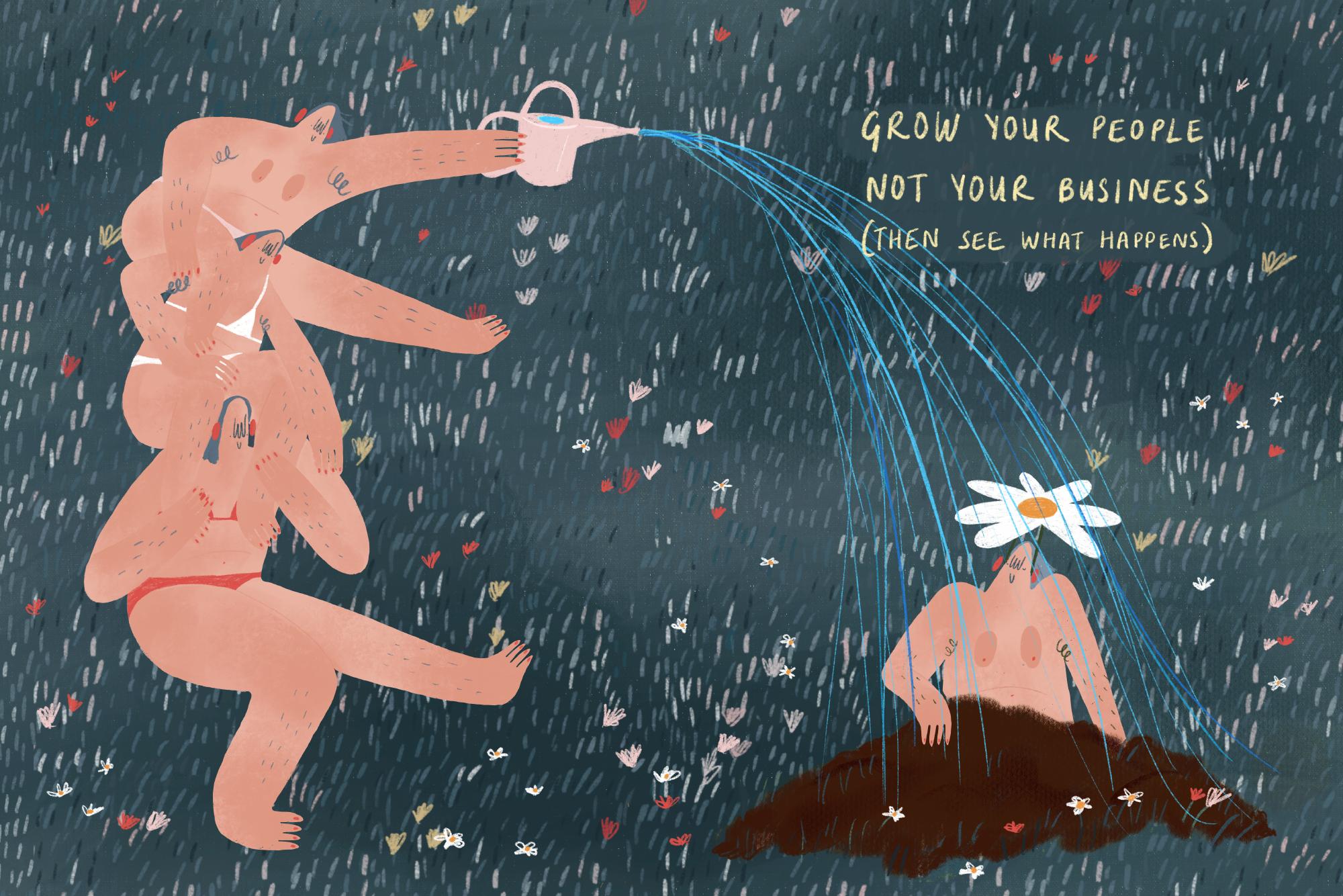 Rosi Tooth Illustration