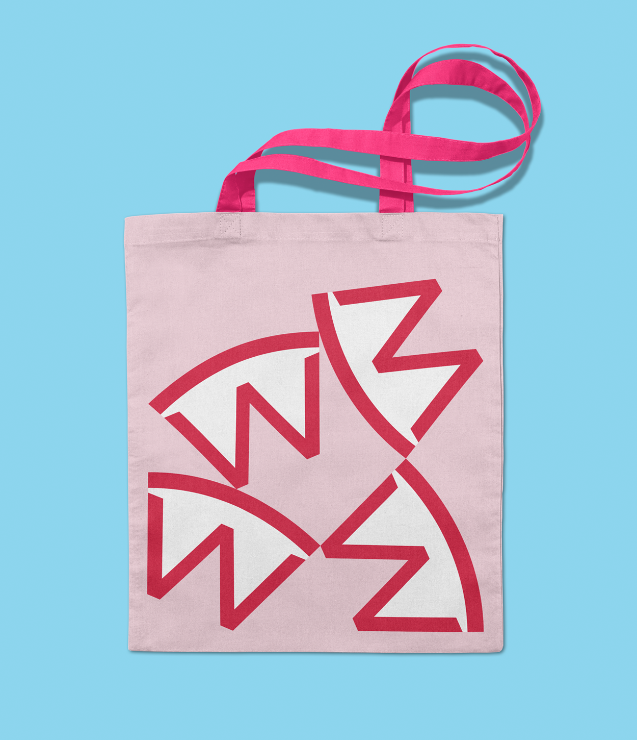 West Pizza, Cardiff, Logo Tote Bag