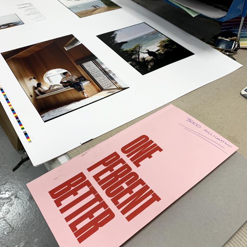 Hiut Denim Company Yearbook Five Work In Progress Print Shop.